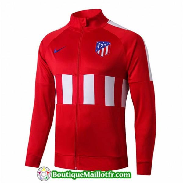 Veste De Foot Atletico Madrid 2019 2020 Rouge Noir