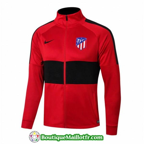 Veste De Foot Atletico Madrid 2019 2020 Rouge/noir