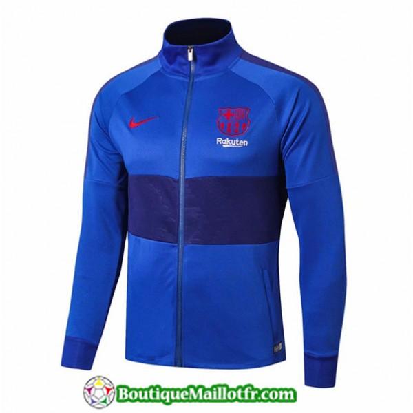 Veste De Foot Barcelone 2019 2020 Bleu