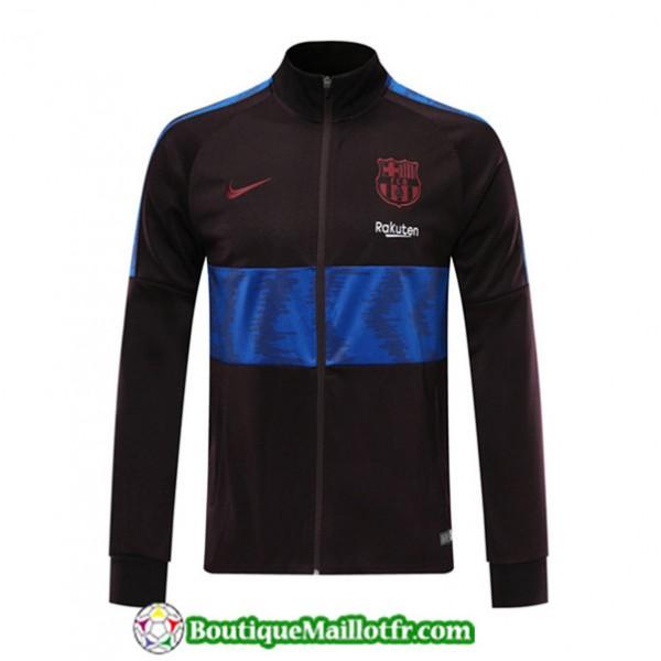 Veste De Foot Barcelone 2019 2020 Noir/bleu