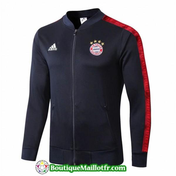 Veste De Foot Bayern Munich 2019 2020 Bleu Marine
