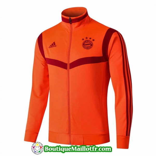 Veste De Foot Bayern Munich 2019 2020 Orange