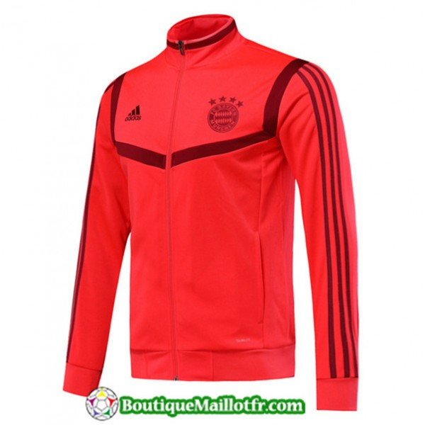 Veste De Foot Bayern Munich 2019 2020 Rouge