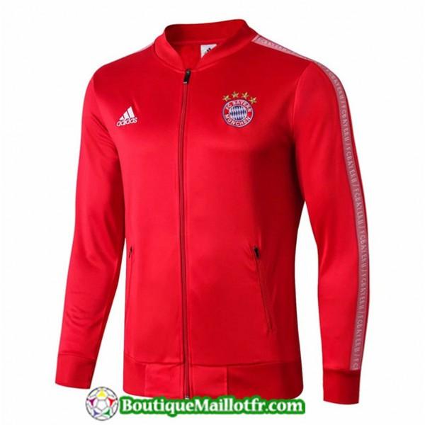 Veste De Foot Bayern Munich 2019 2020 Rouge