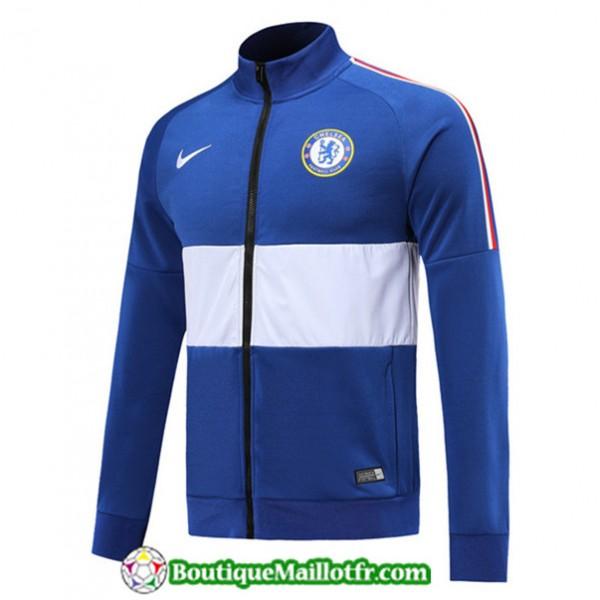 Veste De Foot Chelsea 2019 2020 Bleu/blanc