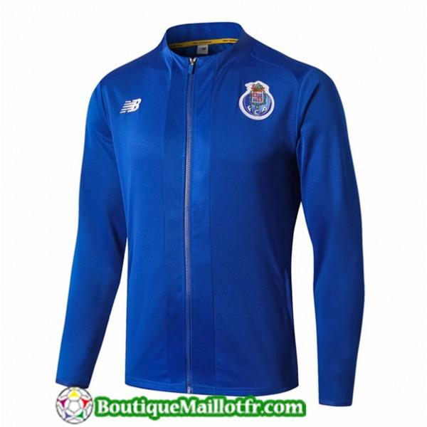 Veste De Foot Fc Porto 2019 2020 Bleu/noir