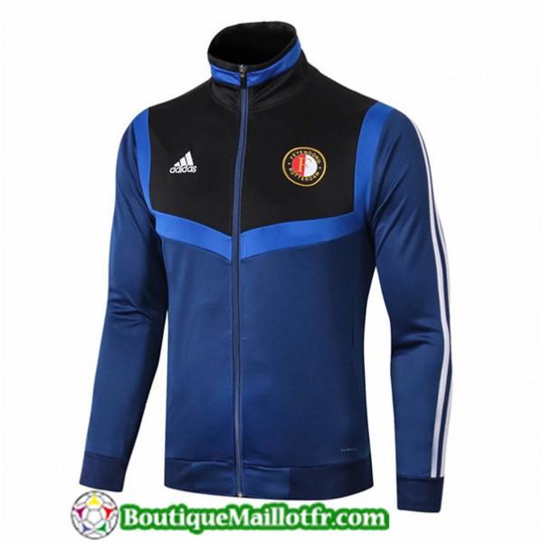 Veste De Foot Feyenoord 2019 2020 Bleu Marine