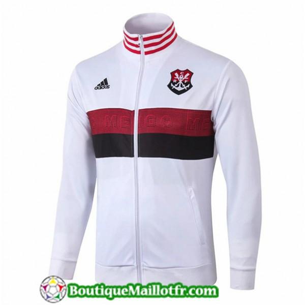 Veste De Foot Flamengo 2019 2020 Blanc