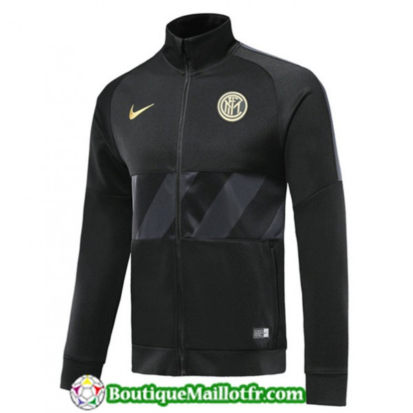 Veste De Foot Inter Milan 2019 2020 Noir