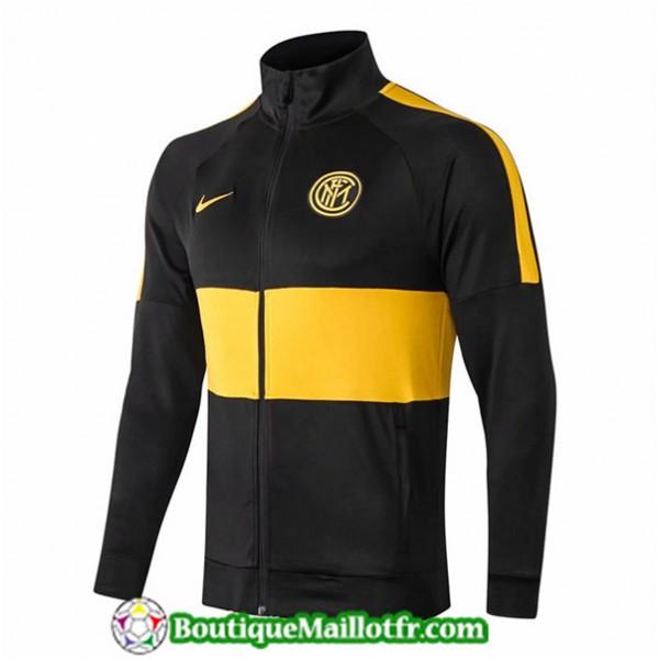 Veste De Foot Inter Milan 2019 2020 Noir/jaune