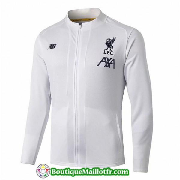 Veste De Foot Liverpool 2019 2020 Blanc