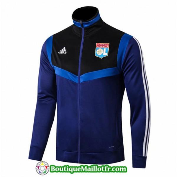 Veste De Foot Lyon 2019 2020 Bleu Marine