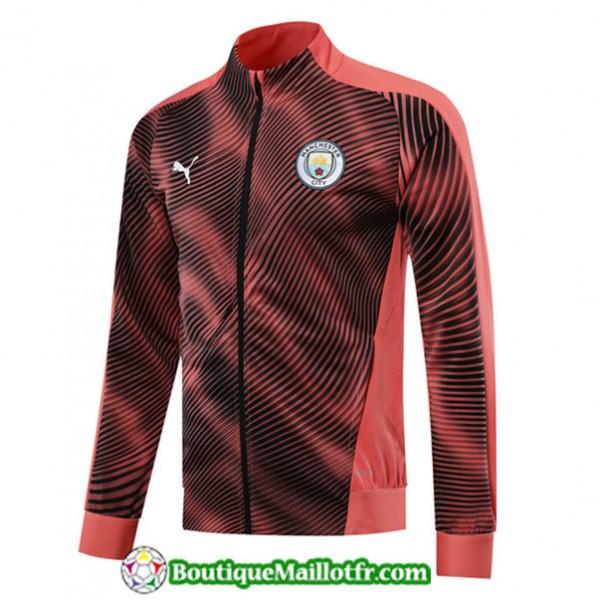 Veste De Foot Manchester City 2019 2020 Rose/noir