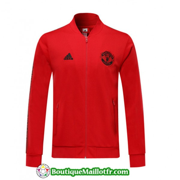 Veste De Foot Manchester United 2019 2020 Rouge