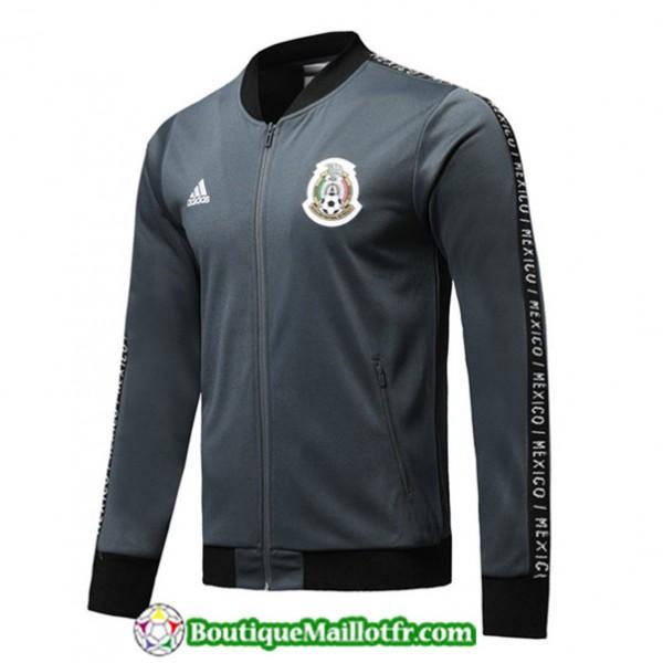 Veste De Foot Mexique 2019 2020 Gris Fonce