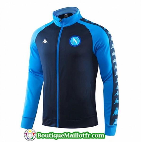 Veste De Foot Naples 2019 2020 Bleu/bleu Marine