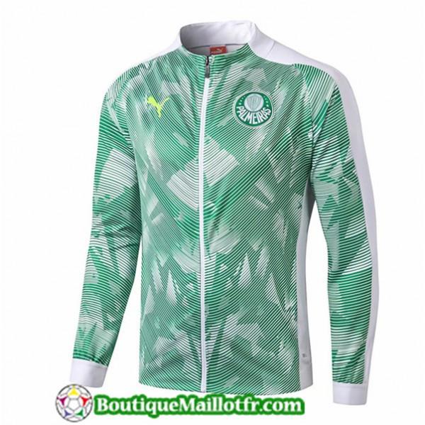 Veste De Foot Palmeiras 2019 2020 Vert/blanc