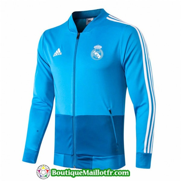 Veste De Foot Real Madrid 2019 2020 Bleu