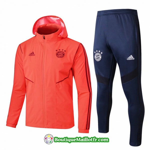 Coupe Vent à Capuche Bayern Munich 2019 2020 Ense...