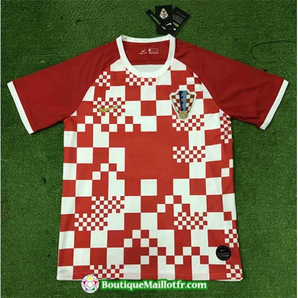 Maillot Croatie 2020 2021 Domicile Uefa Euro
