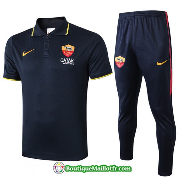 Maillot Entrenamiento Polo As Roma 2019 2020 Ensem...