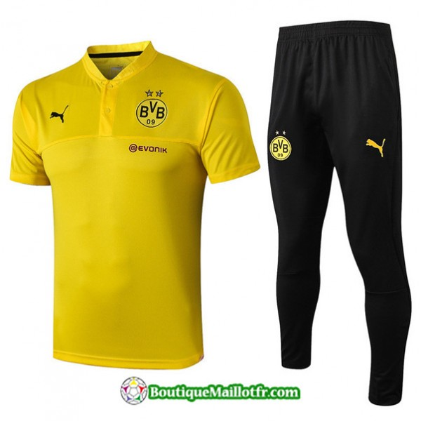 Maillot Entrenamiento Polo Borussia Dortmund 2019 ...