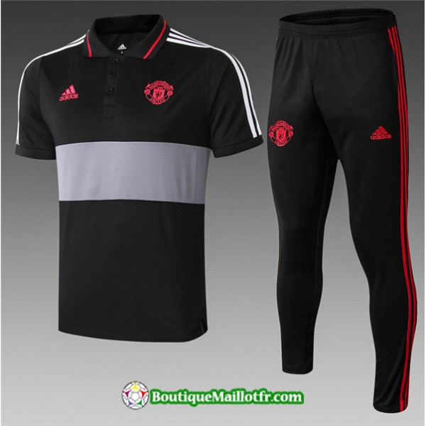 Maillot Entrenamiento Polo Manchester United 2019 ...