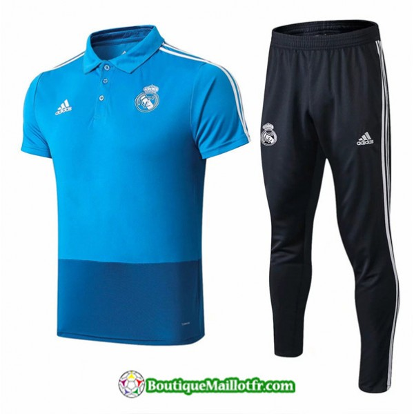 Maillot Entrenamiento Polo Real Madrid 2019 2020 E...