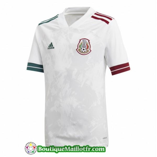 Maillot Mexique 2020 2021 Exterieur Blanc