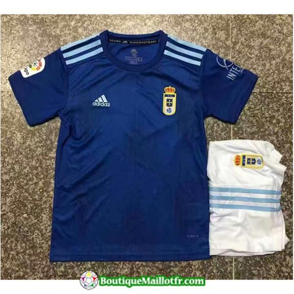 Maillot Real Oviedo Enfant 2019 2020 Domicile
