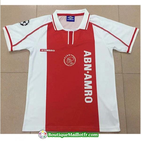 Maillot Retro Ajax 1998 Domicile
