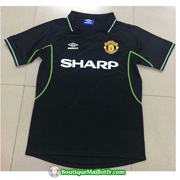 Maillot Retro Manchester United 1998 Exterieur