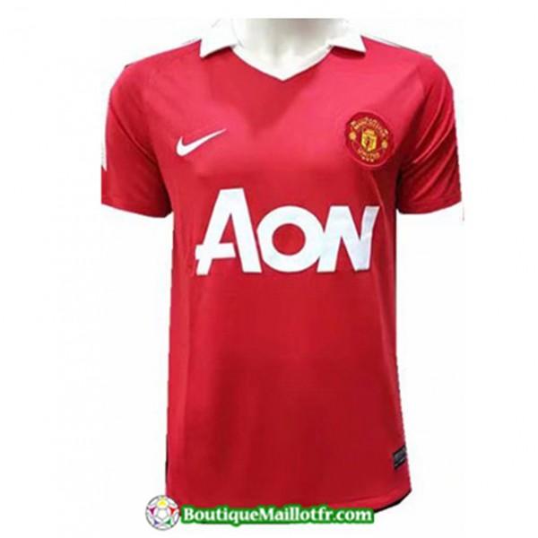 Maillot Retro Manchester United 2011 Domicile