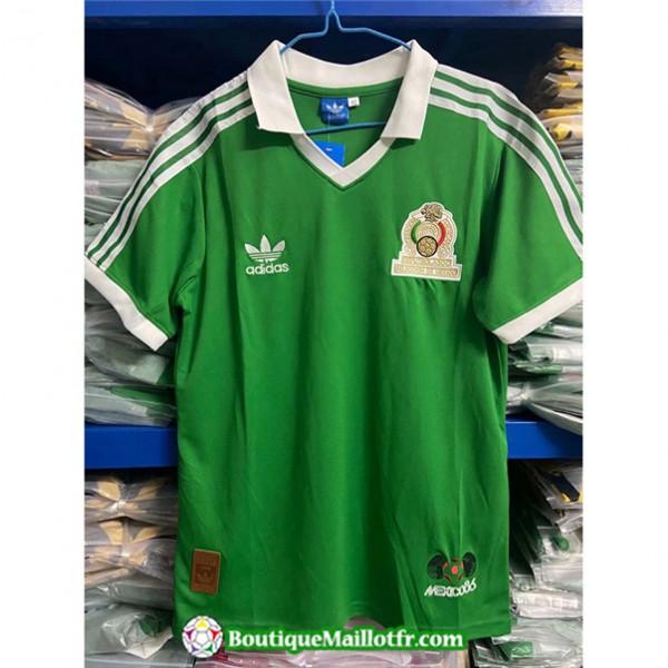 Maillot Retro Mexique 1986 Domicile
