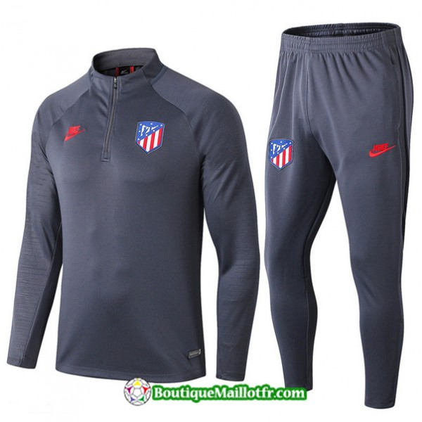 Survetement Atletico Madrid 2019 2020 Ensemble Gri...