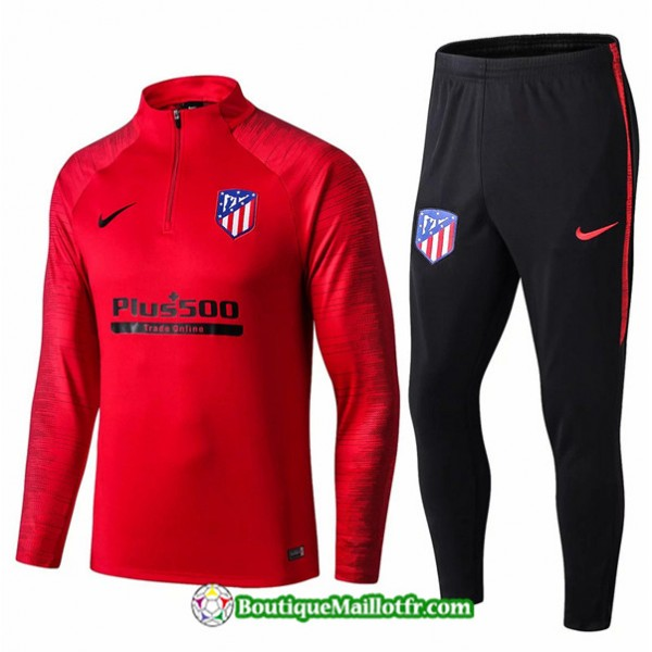 Survetement Atletico Madrid 2019 2020 Ensemble Rou...