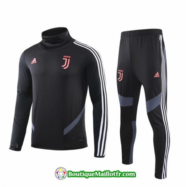 Survetement Juventus 2019 2020 Ensemble Noir/blanc...