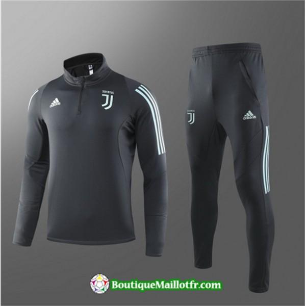 Survetement Juventus 2019 2020 Ensemble Noir Sweat...