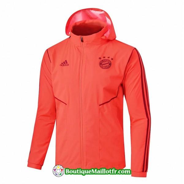 Veste Coupe Vent à Capuche Bayern Munich 2019 202...