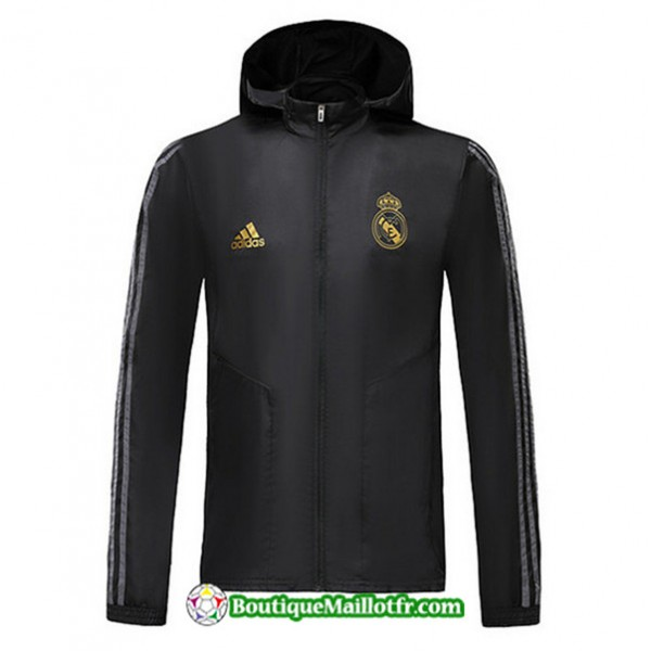 Veste Coupe Vent à Capuche Real Madrid 2019 2020 ...