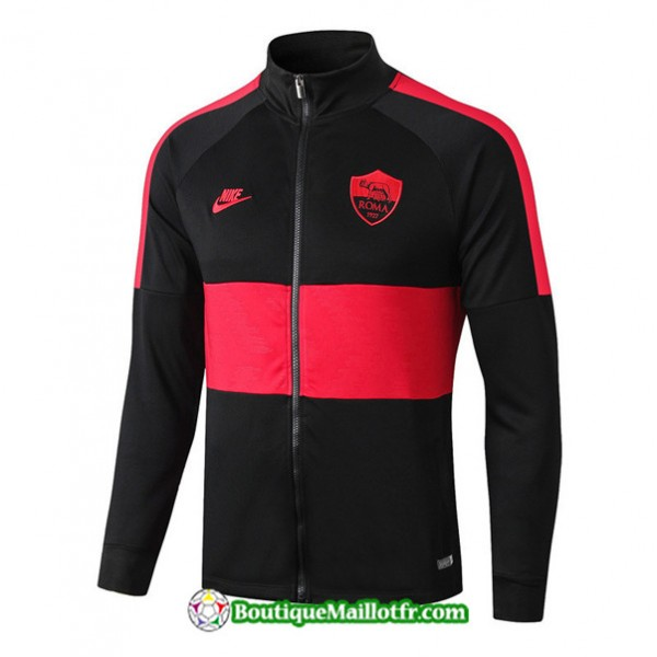 Veste De Foot As Roma 2019 2020 Ensemble Noir/roug...