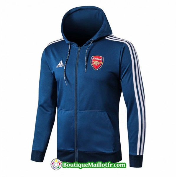 Veste De Foot Sweat à Capuche Arsenal 2019 2020 E...