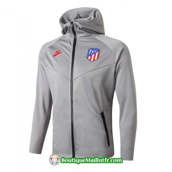Veste De Foot Sweat à Capuche Atletico Madrid 201...