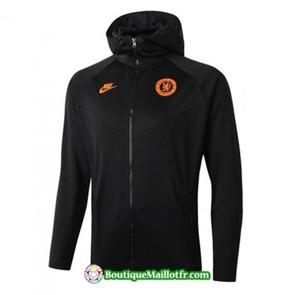 Veste De Foot Sweat à Capuche Chelsea 2019 2020 E...