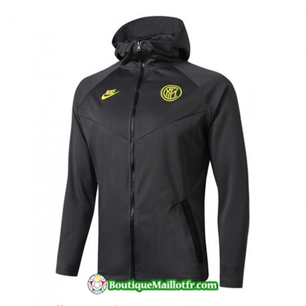 Veste De Foot Sweat à Capuche Inter Milan 2019 20...