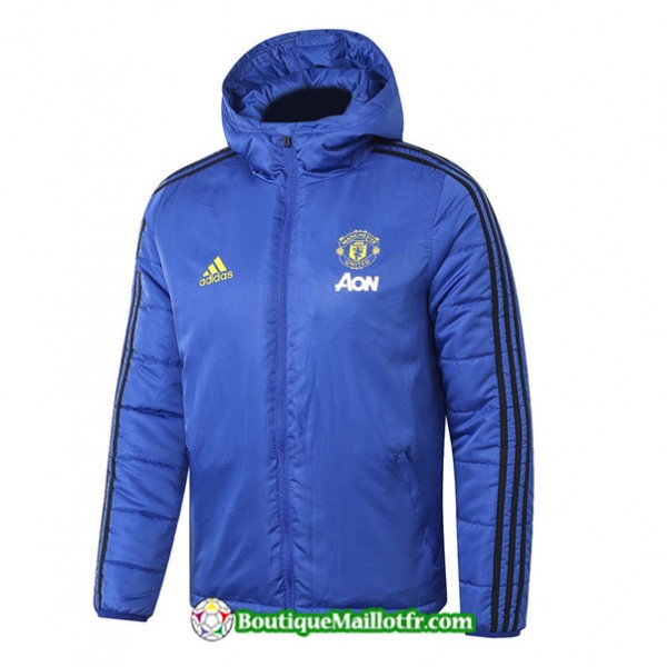 Veste De Foot Sweat à Capuche Manchester United 2...