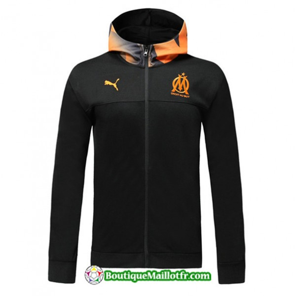 Veste De Foot Sweat à Capuche Marseille 2019 2020...