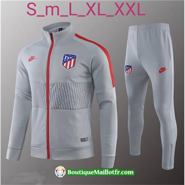 Veste Survetement Atletico Madrid 2019 2020 Ensemb...