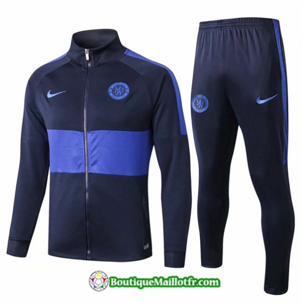 Veste Survetement Chelsea 2019 2020 Ensemble Bleu ...
