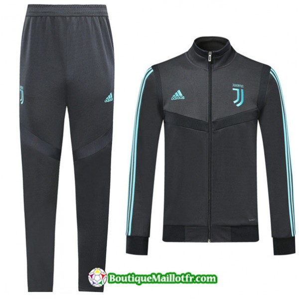 Veste Survetement Juventus 2019 2020 Ensemble Noir